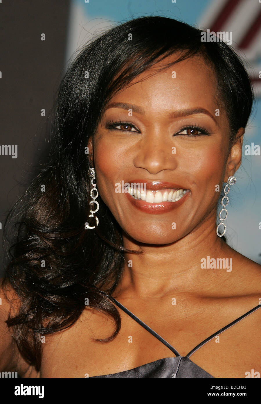 ANGELA BASSETT - US film actress/singer - Stock Image