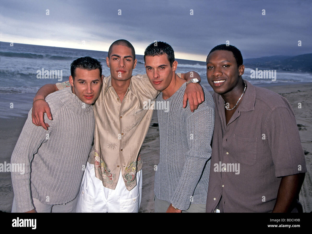 ANOTHER LEVEL - UK vocal group in 1999 Stock Photo