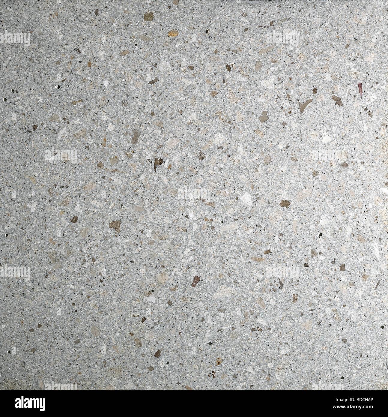 polished concrete work top - Stock Image