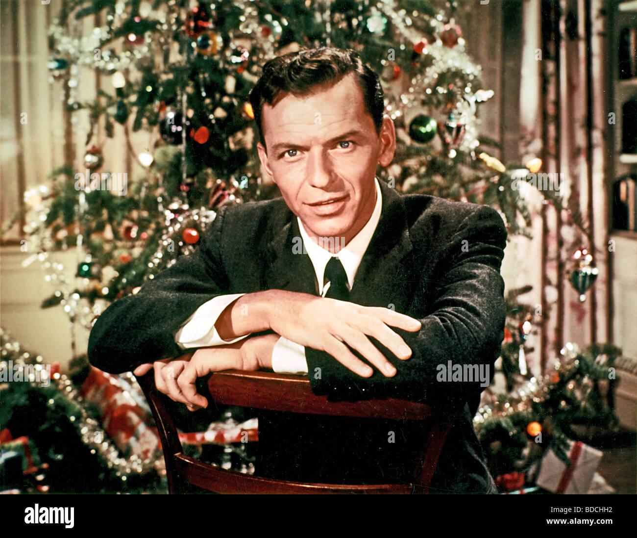 Frank Sinatra Christmas.Frank Sinatra Christmas Stock Photos Frank Sinatra