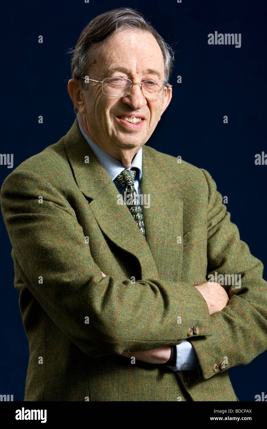 Lord Joel Joffe, the attorney who in 1963 defended Nelson Mandela and the ANC at the Rivonia trials in South Africa. - Stock Image