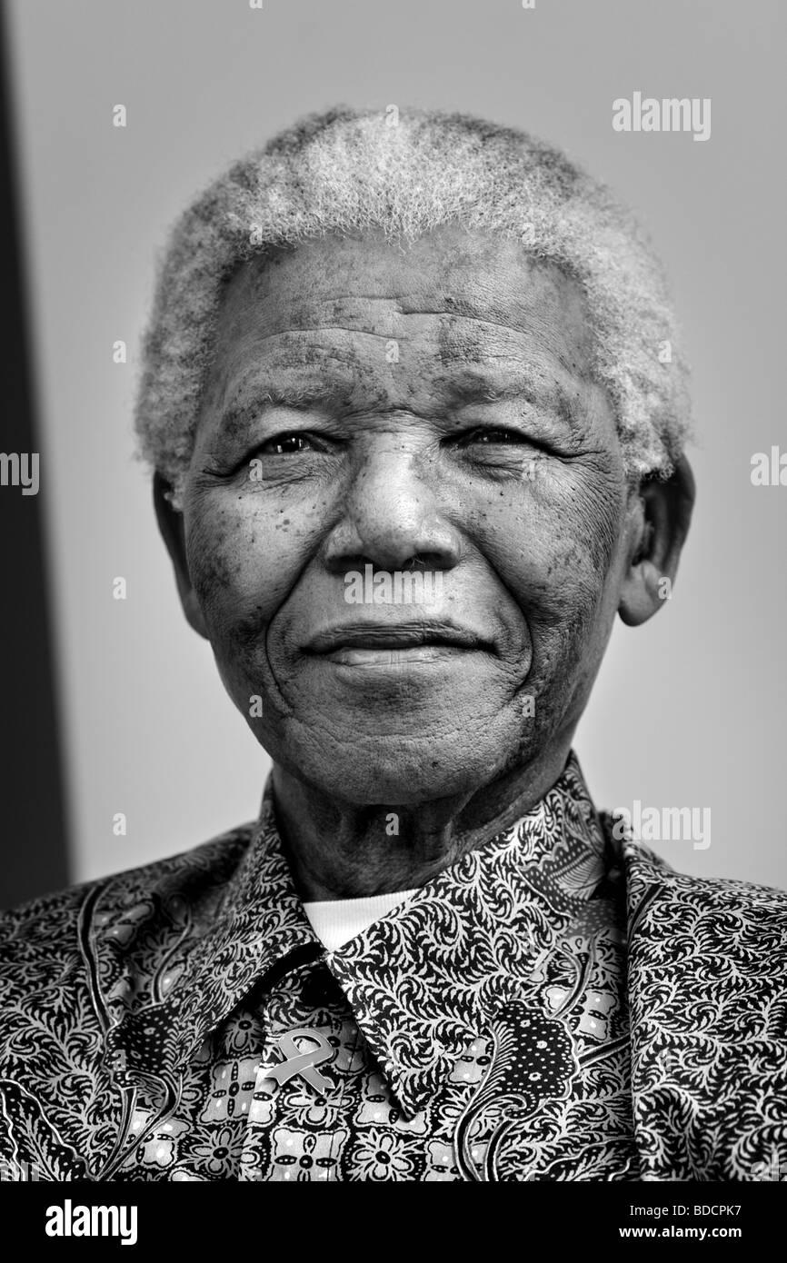Nelson Mandela - Stock Image