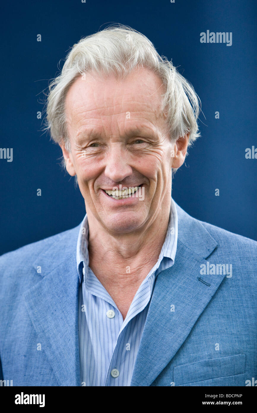 Colin Thubron, best-selling travel writer, at the Edinburgh International Book Festival, Edinburgh, Scotland - Stock Image