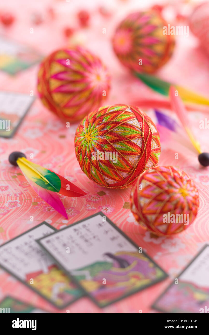 Japanese traditional toy - Stock Image