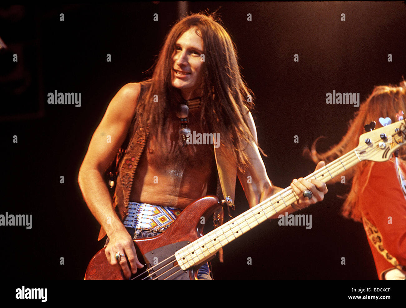BLACKFOOT  - US rock group with Greg T Walker about 2001 - Stock Image