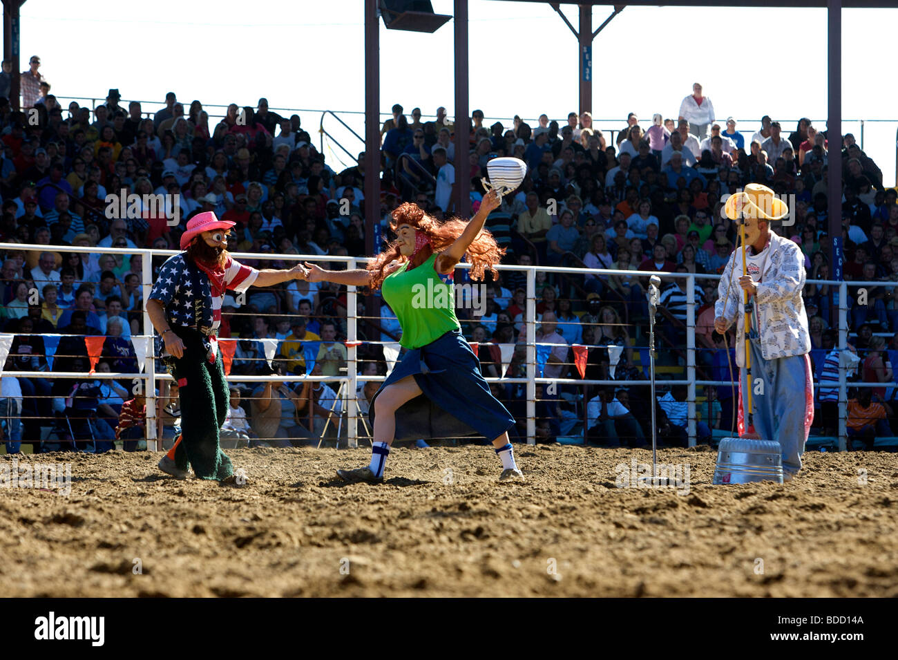 Louisiana State Penitentiary. Angola Prison Rodeo. PHOTO: GERRIT DE HEUS - Stock Image