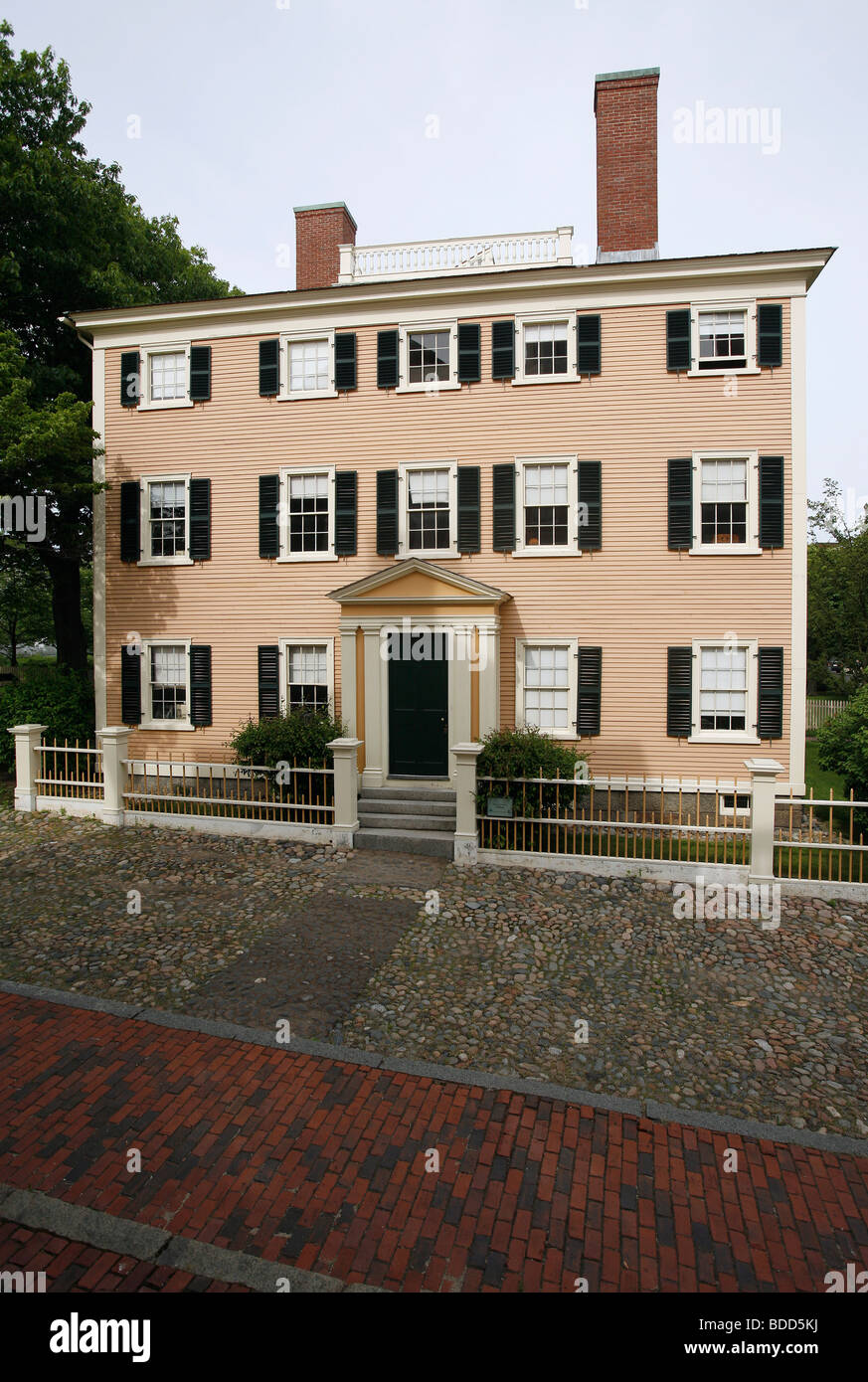 Hawkes House 1780, Salem, Massachusetts Stock Photo