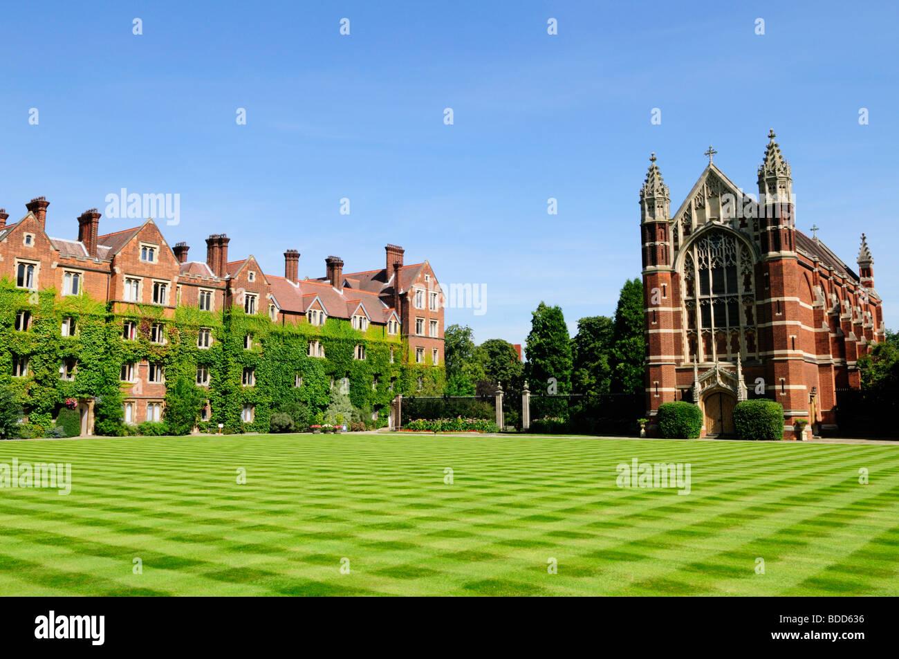 Selwyn College Cambridge England UK - Stock Image