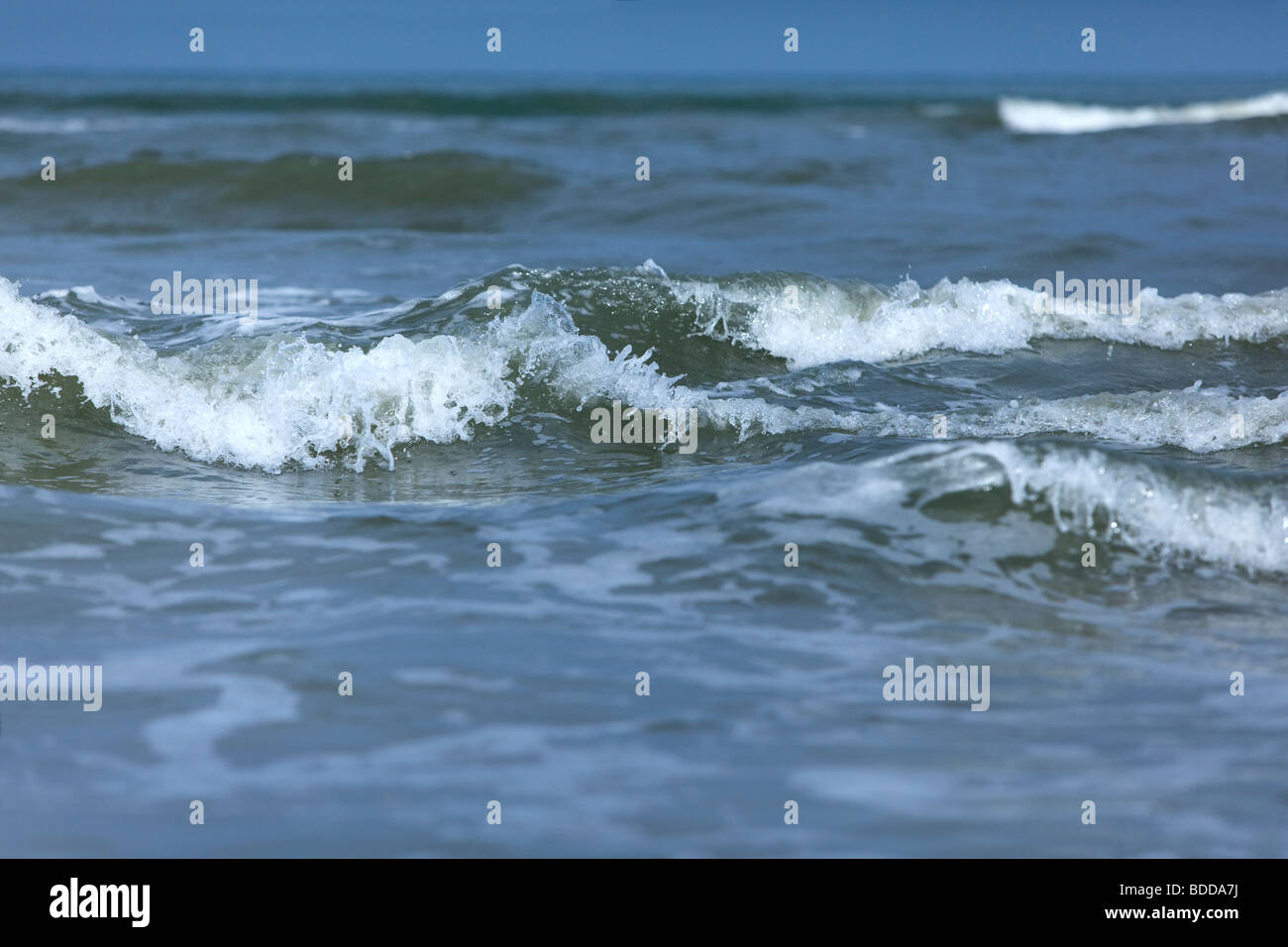Sea waves - Stock Image