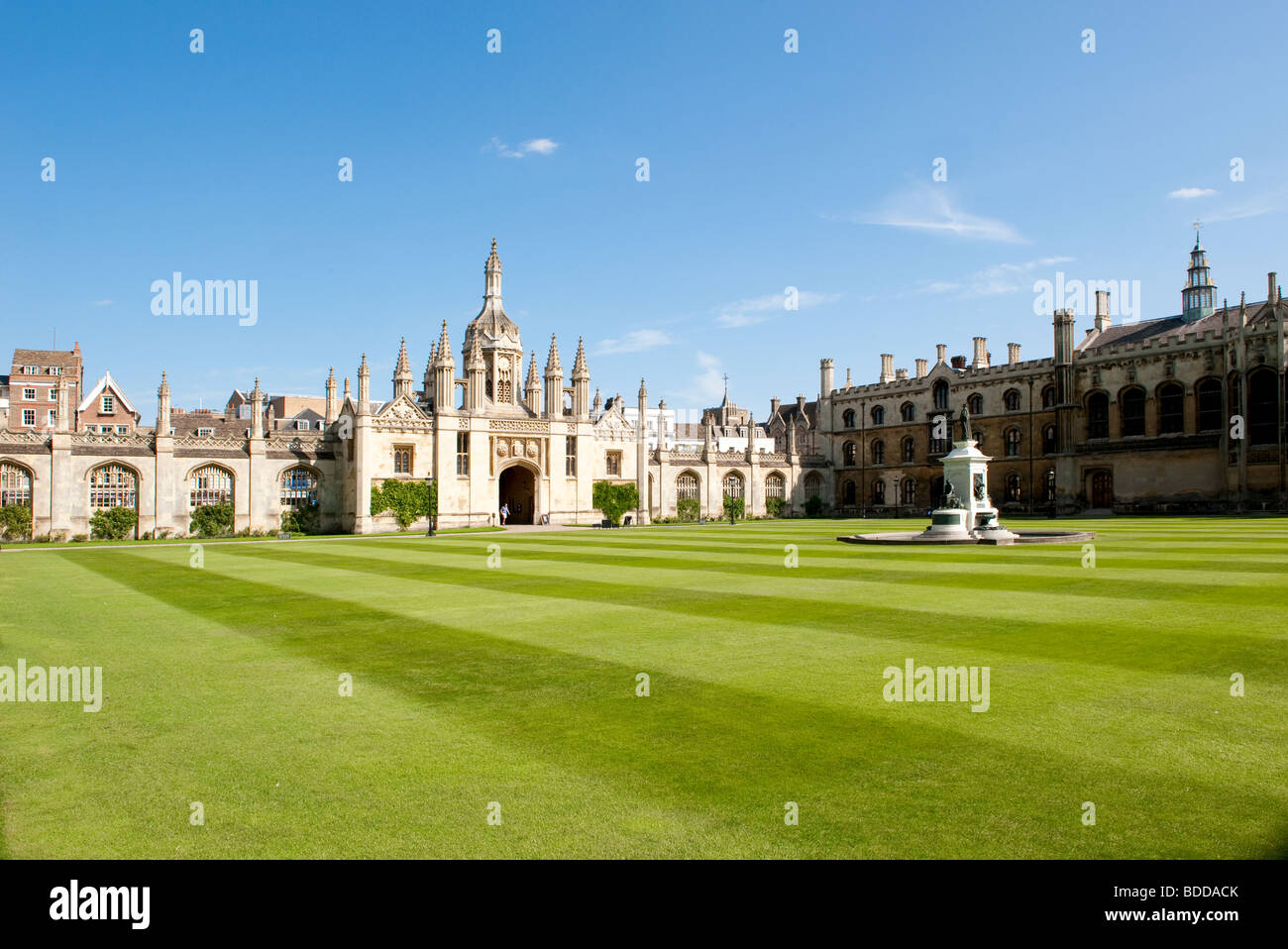 Trinity College, Cambridge, UK - The College of the Holy and Undivided Trinity - Stock Image