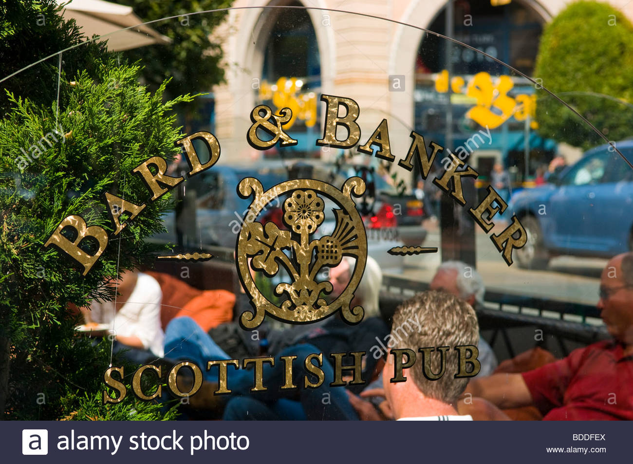 A popular Scottish Pub in Victoria 'British Columbia' Canada - Stock Image