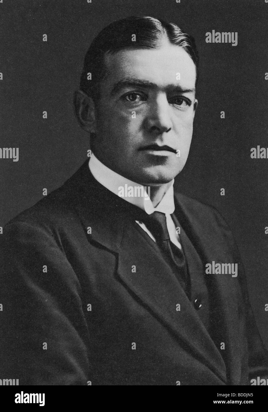 SIR ERNEST SHACKLETON  (1874-1922)  UK arctic explorer - Stock Image