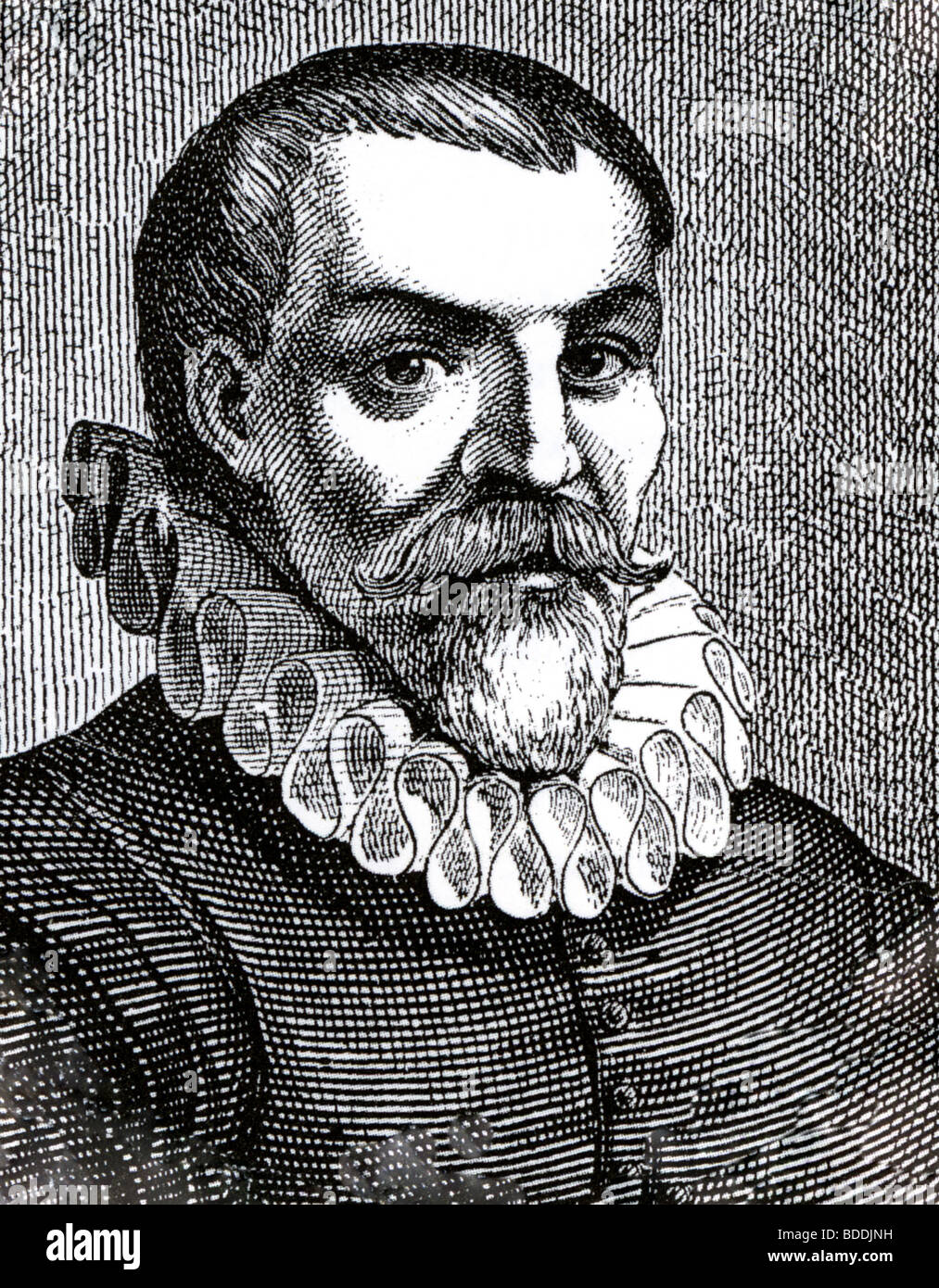 WILLEM BARENTS ( c 1550 - 1597) Dutch navigator, cartographer and explorer  after whom the Barents Strait is name