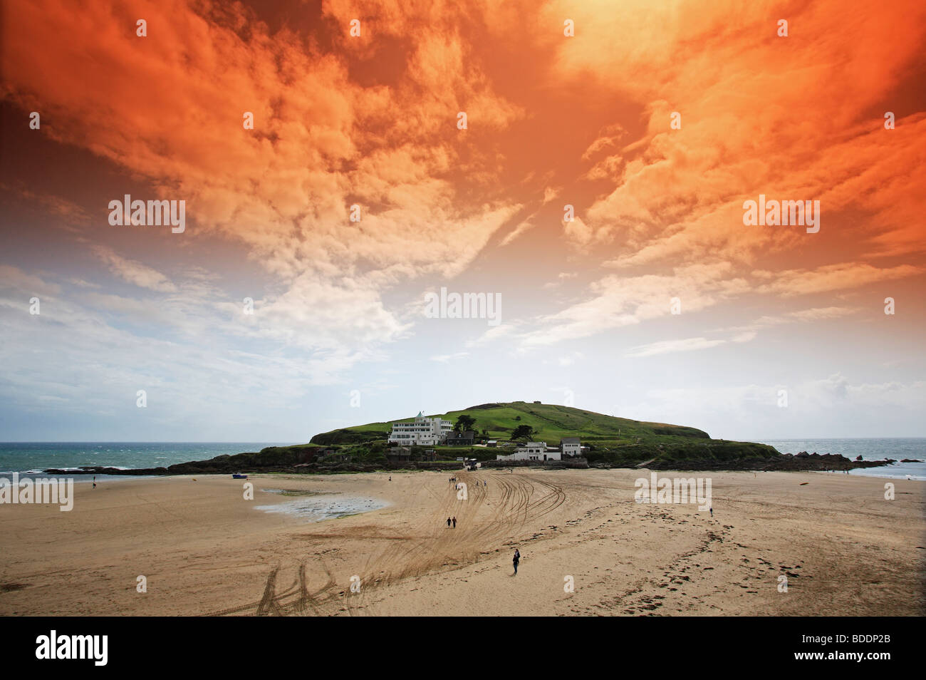2578. Burgh Island, Bigbury-on-Sea, Devon - Stock Image