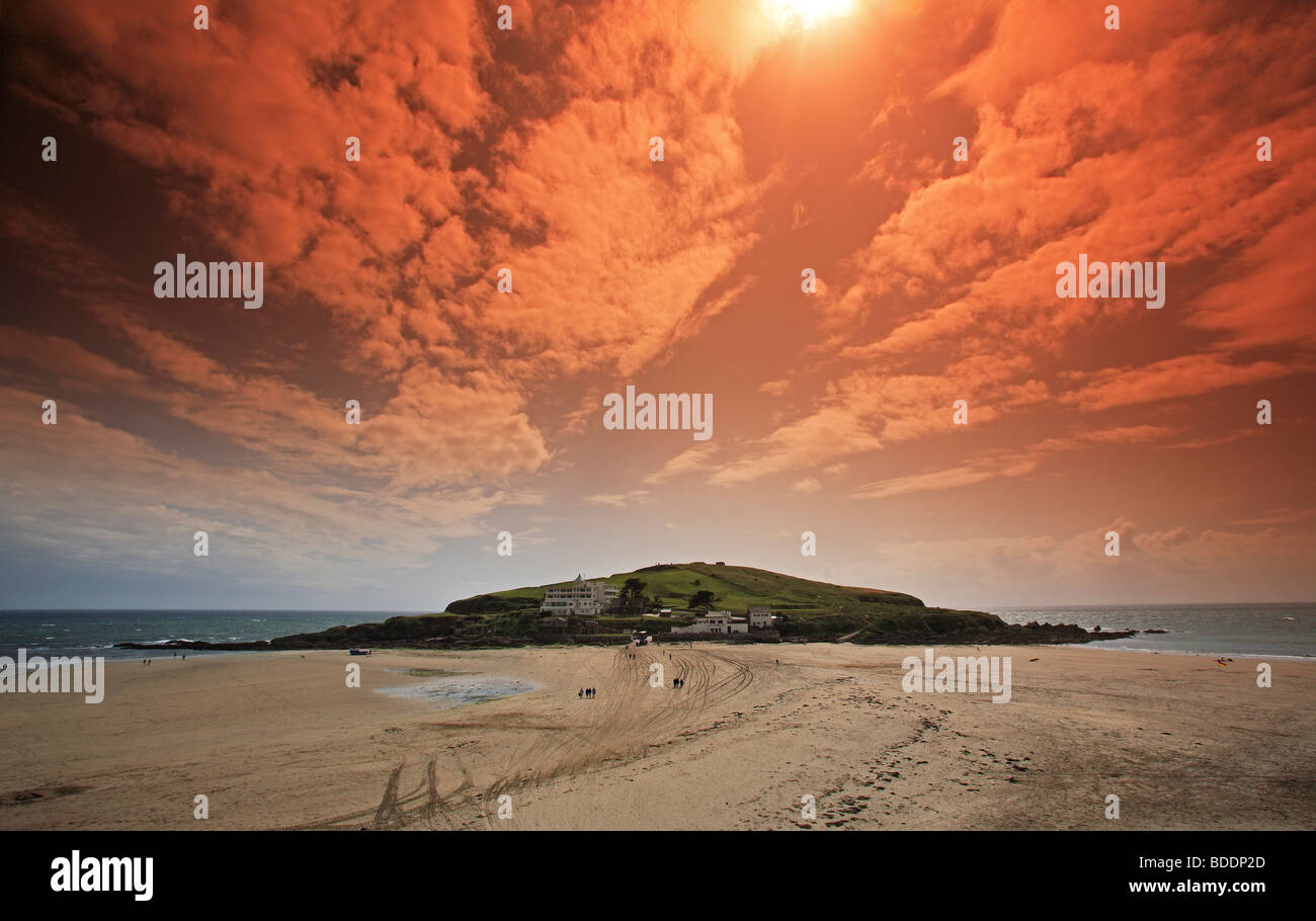 2579. Burgh Island, Bigbury-on-Sea, Devon - Stock Image