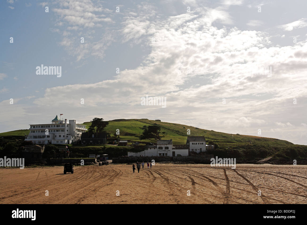 2580. Burgh Island, Bigbury-on-Sea, Devon - Stock Image