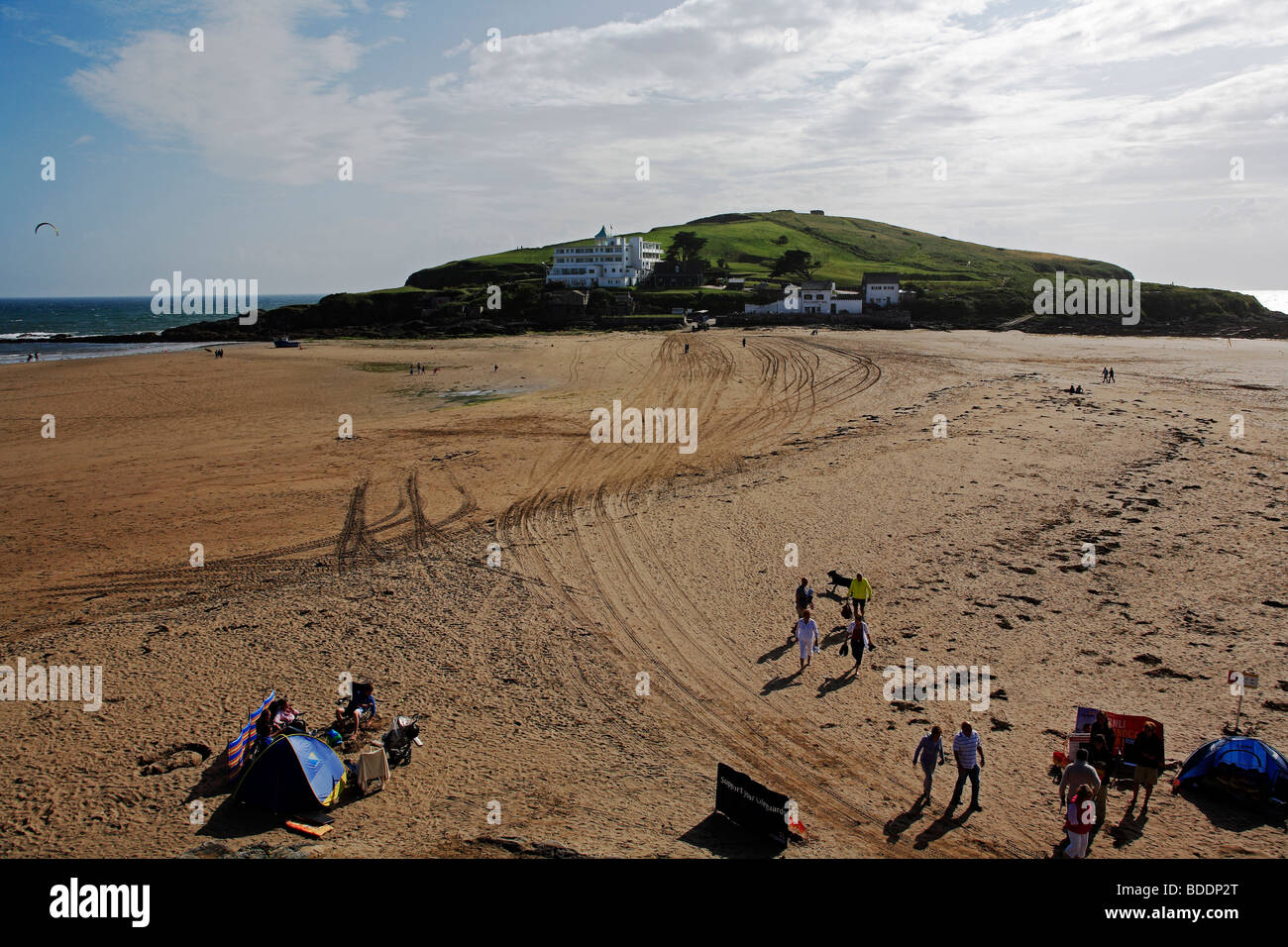 2581. Burgh Island, Bigbury-on-Sea, Devon - Stock Image