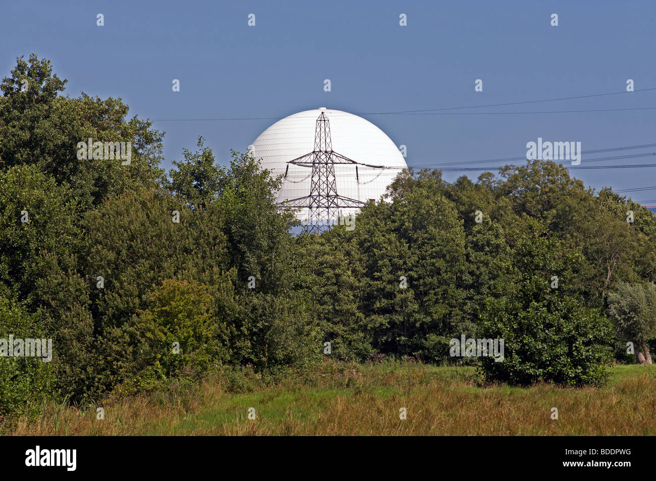 Sizewell B nuclear power station, UK. - Stock Image