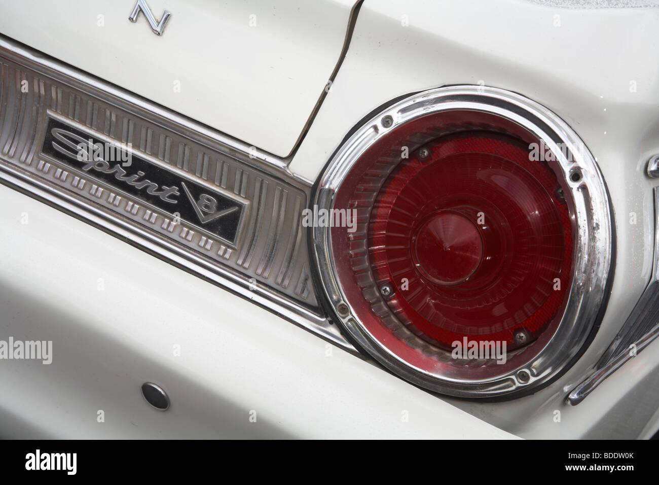 Classic Car Tail Light Stock Photos Classic Car Tail Light Stock