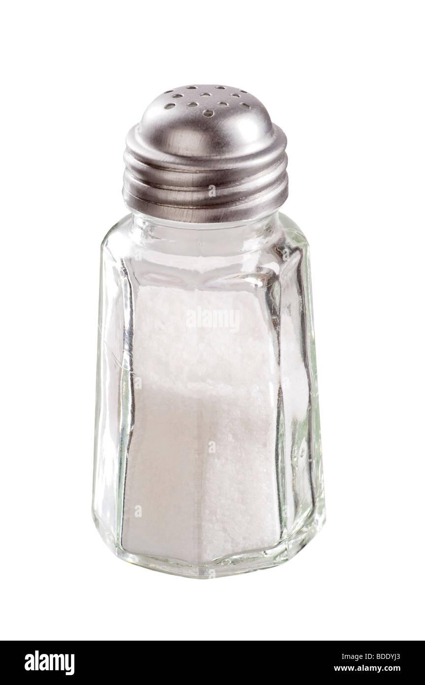 Salt shaker - Stock Image