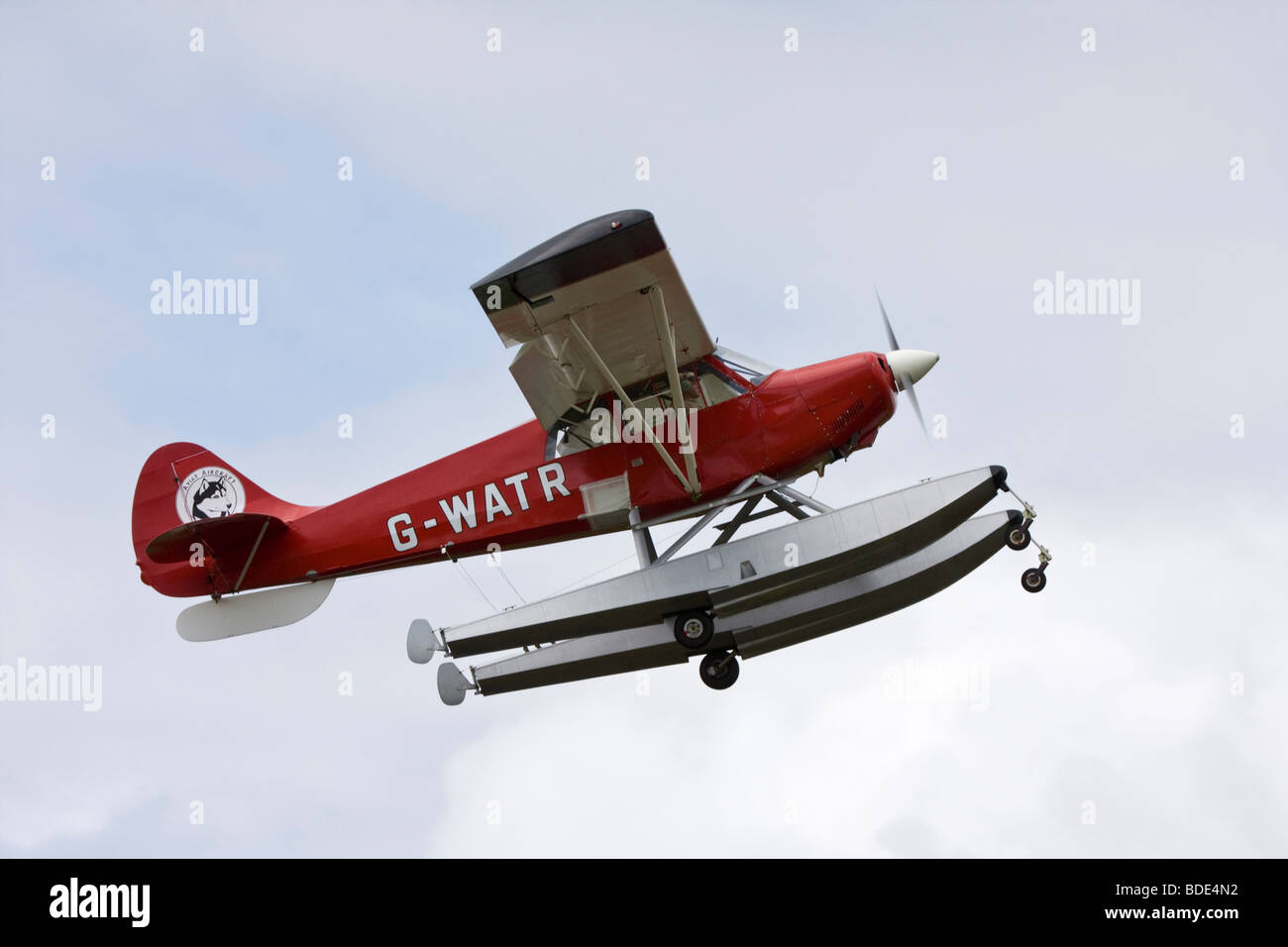 Aviat A-1 Husky two seat high wing light utility aircraft - Stock Image
