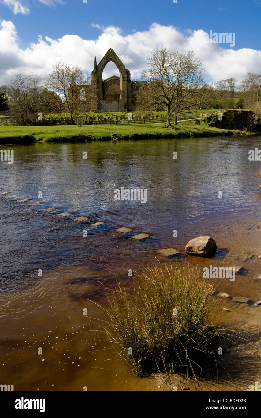 Bolton Abbey, Yorkshire Dales - Stock Image
