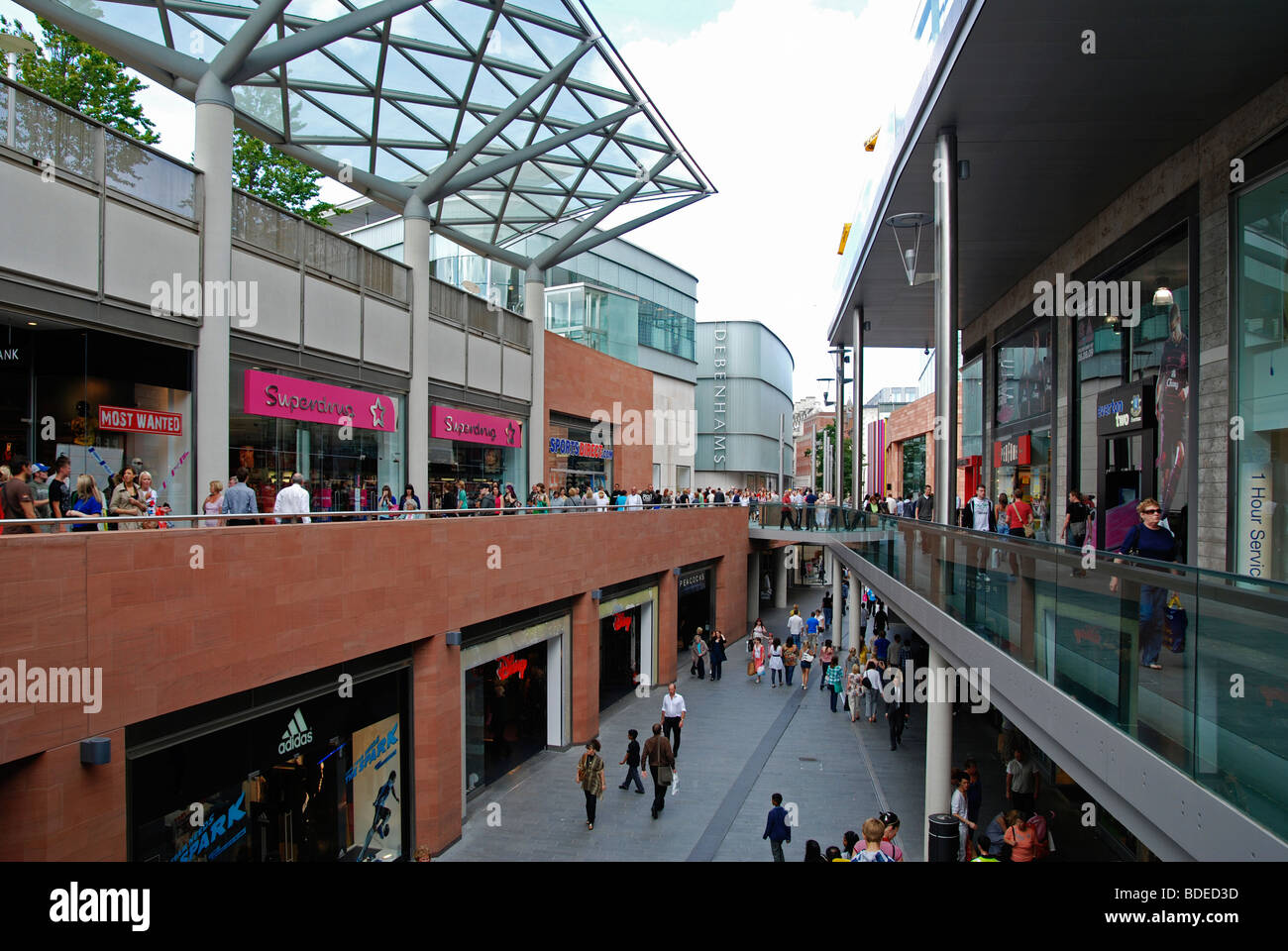 ' Liverpool One ' the shopping complex in liverpool, uk - Stock Image