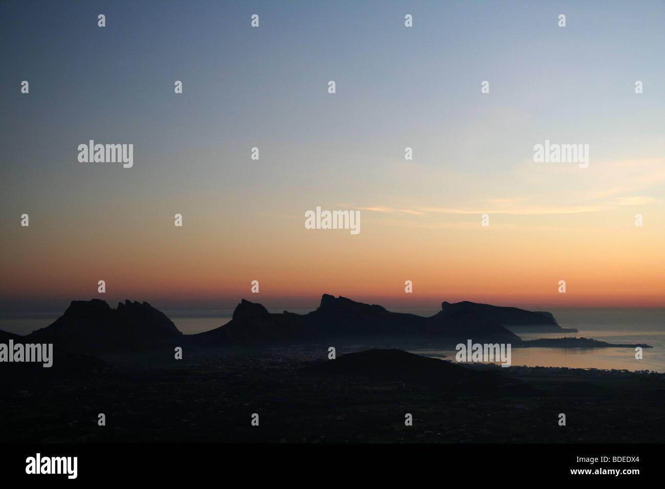 Morning Light on Formentor Coastline Mallorca 01 - Stock Image