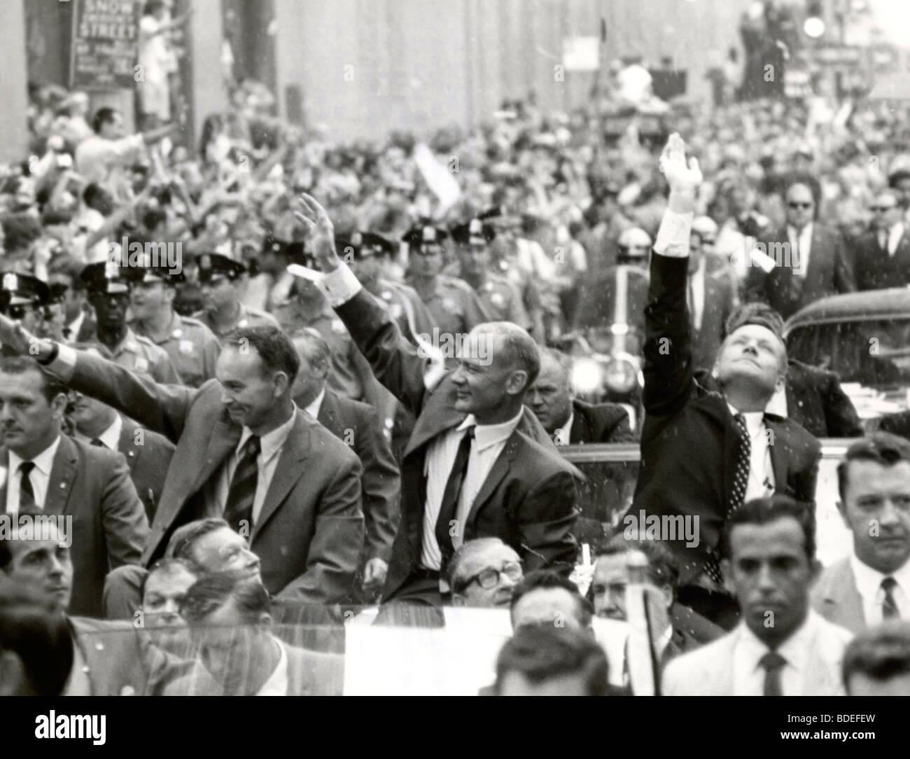 New York City Welcomes the Apollo 11 Astronauts - Stock Image
