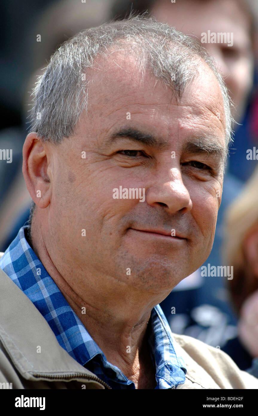 TUC General Secretary Brendan Barber - Stock Image