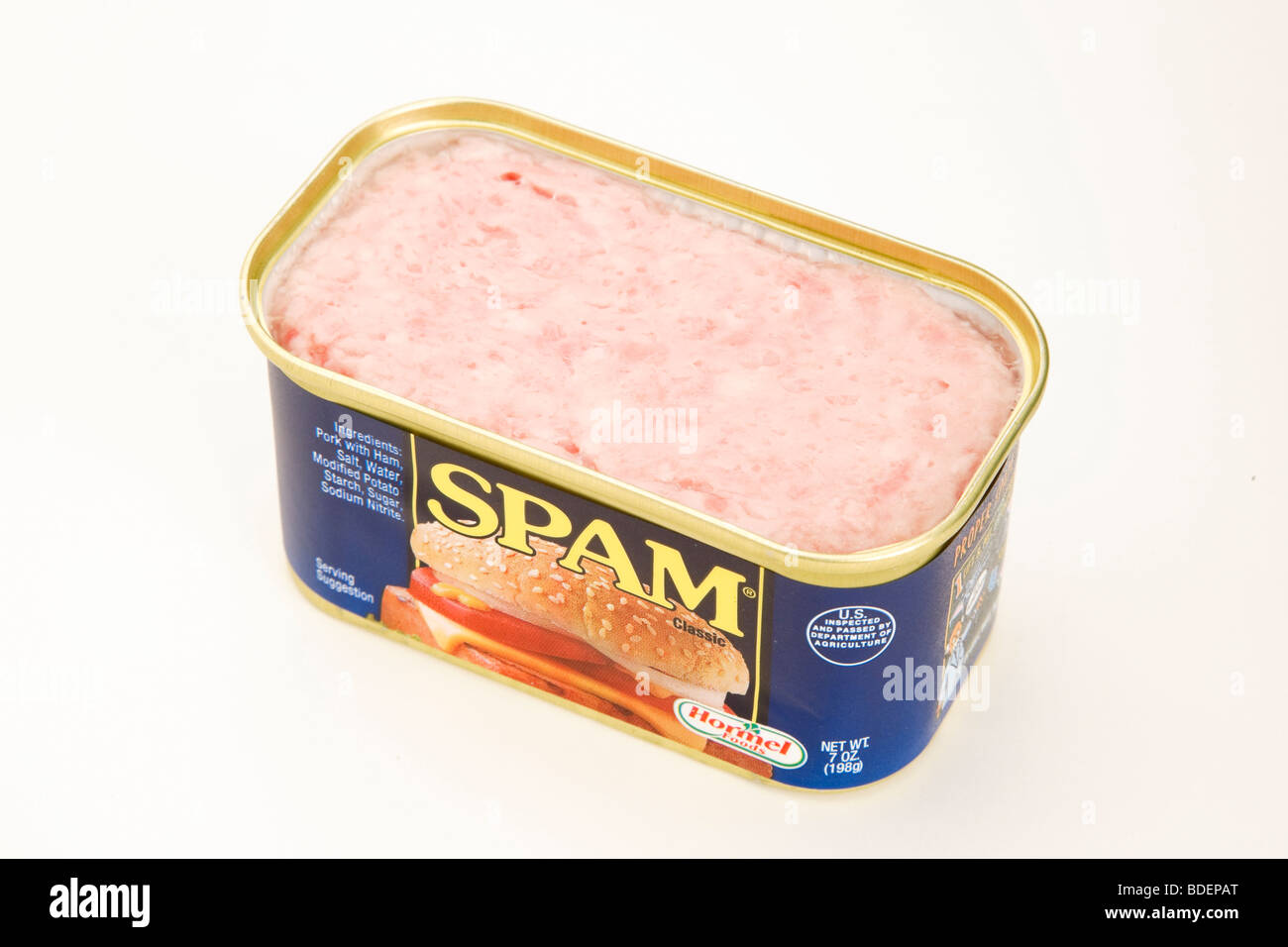 Canned Spam - Stock Image