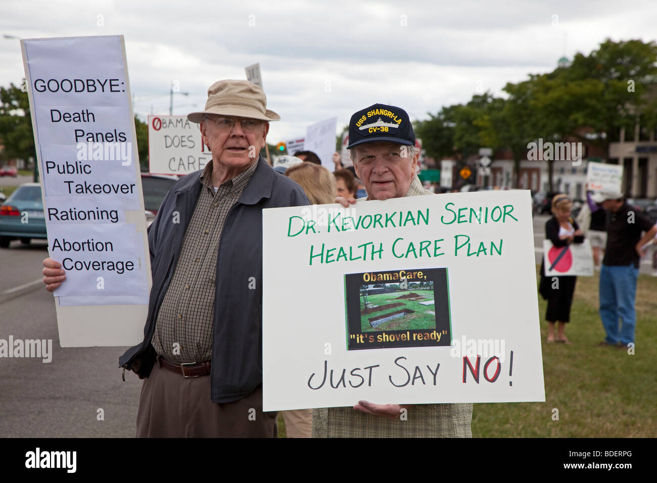Opponents of Health Care Reform - Stock Image