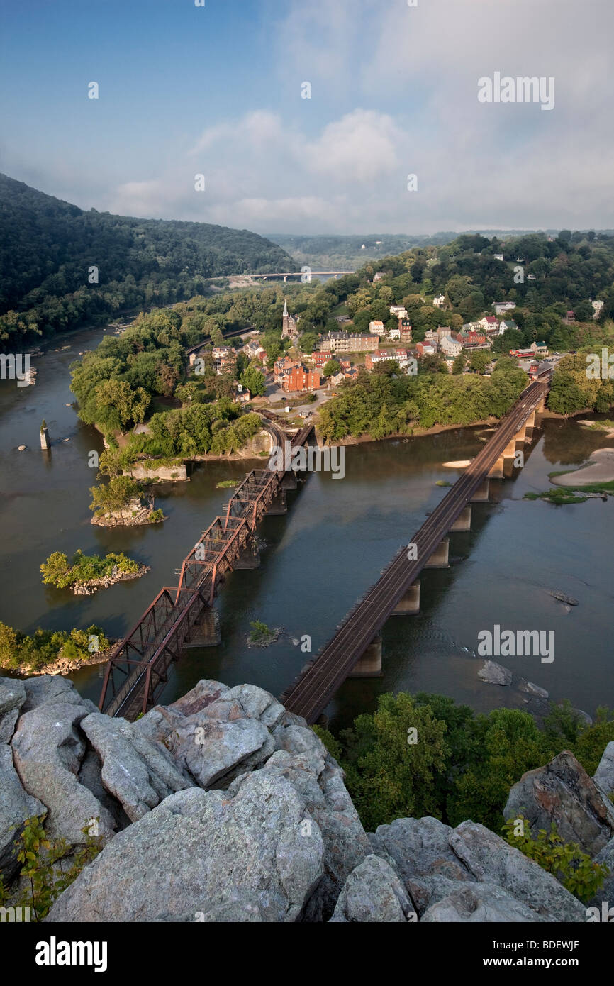 Harpers Ferry National Historical Park - Stock Image