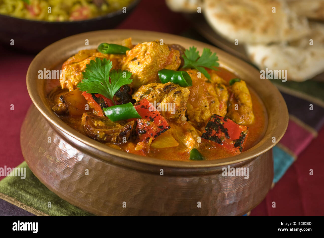 Chicken jalfrezi india south asia food stock photo 25528621 alamy chicken jalfrezi india south asia food forumfinder Choice Image