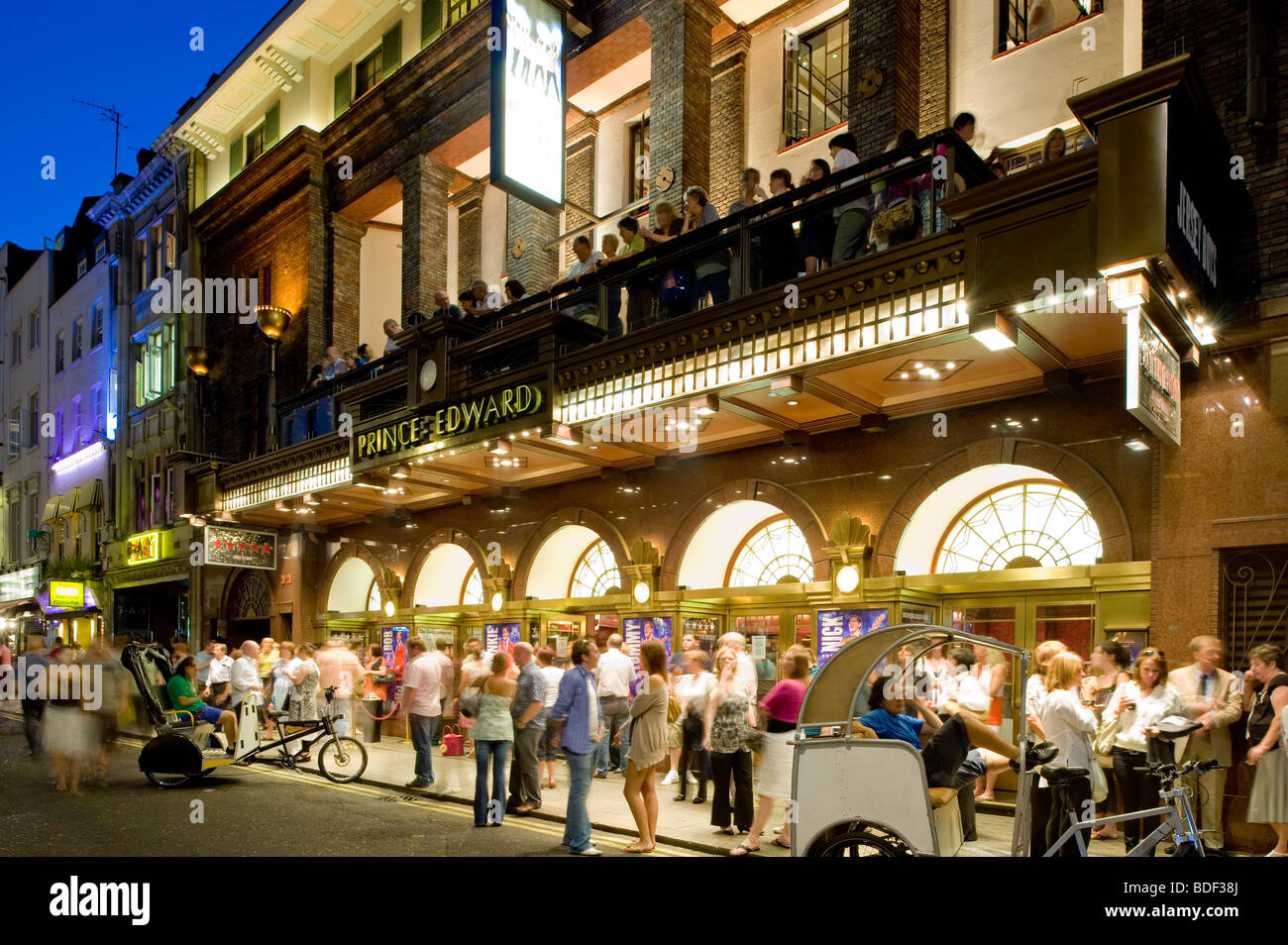 Prince Edward Theatre On Old Compton Street W1 London United Kingdom