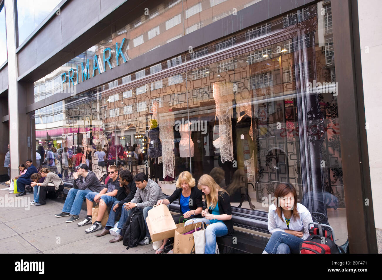 Primark department store, Oxford Street, London, United Kingdom - Stock Image