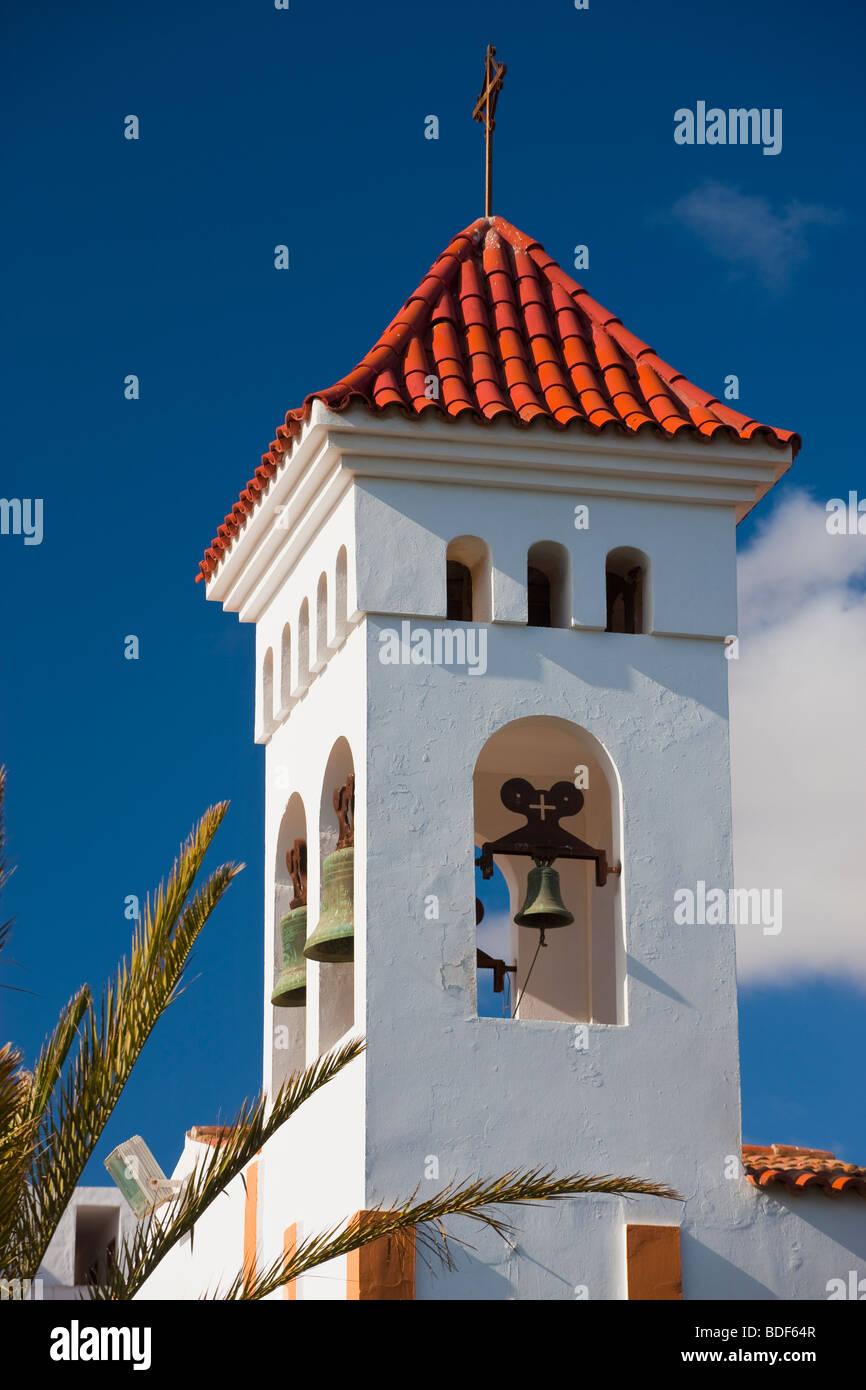Nuestra Senora de la Candela church Gran Tarajal Fuerteventura Canary Islands Spain - Stock Image