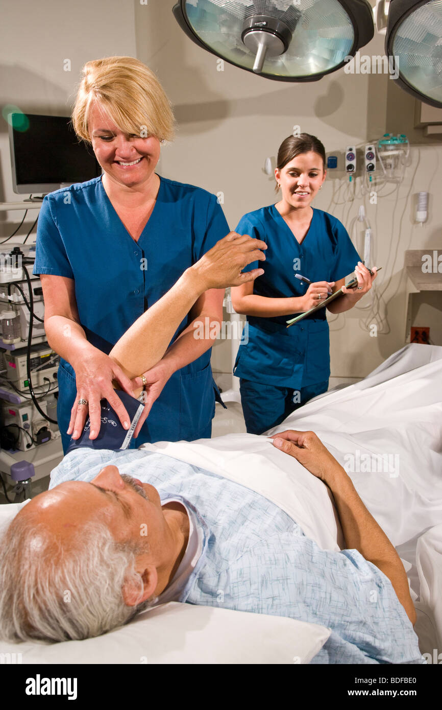 Preparation The patient will be given standard preoperative blood and urine tests at some time prior to surgery Before the operation the physician or nurse