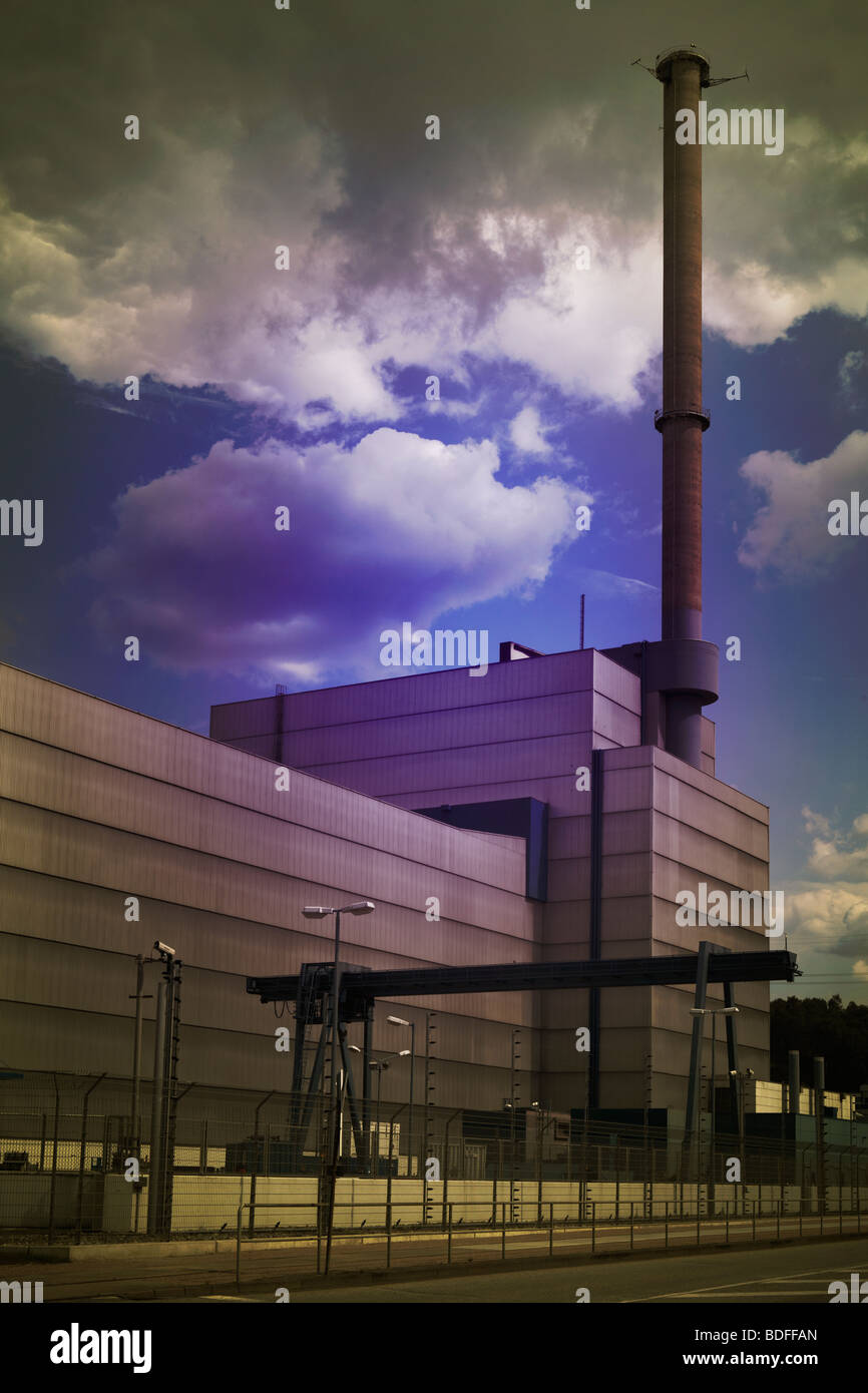 Kernkraftwerk, Kruemmel, Hamburg, AKW, Stock Photo