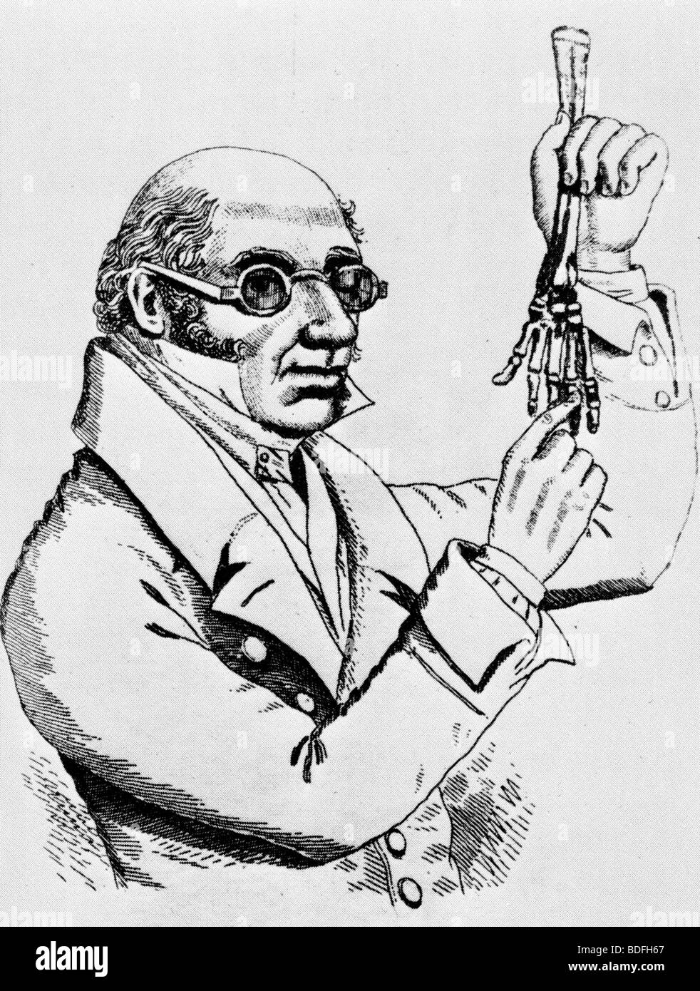 DR ROBERT KNOX - (1791-1862) As keeper of the Anatomy Museum in ...