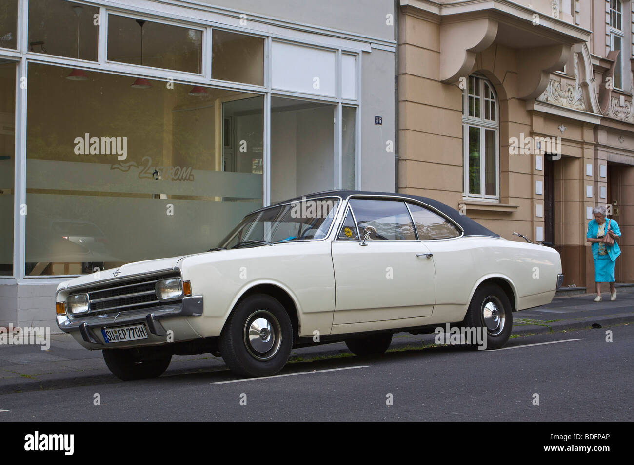 Opel Rekord 1900L Coupe from the 1960s Stock Photo