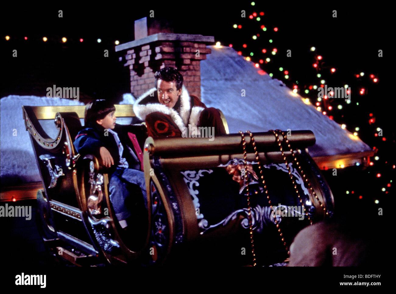 THE SANTA CLAUSE - 1994 Buena Vista/Walt Disney film with Tim Allen - Stock Image