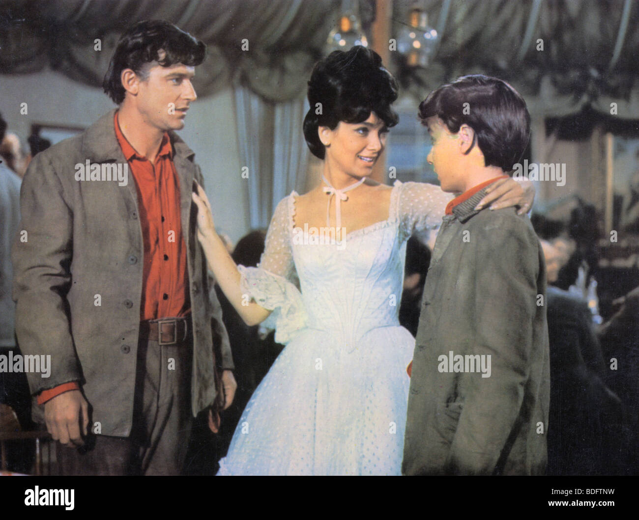 ADVENTURES OIF BULLWHIP GRIFFIN - 1951 Republic film with Suzanne Pleshette - Stock Image