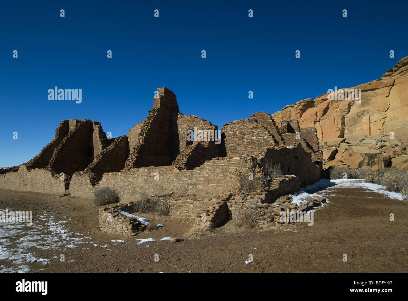 Chacoan Culture National Historical Park Chaco Canyon New Mexico - Stock Image