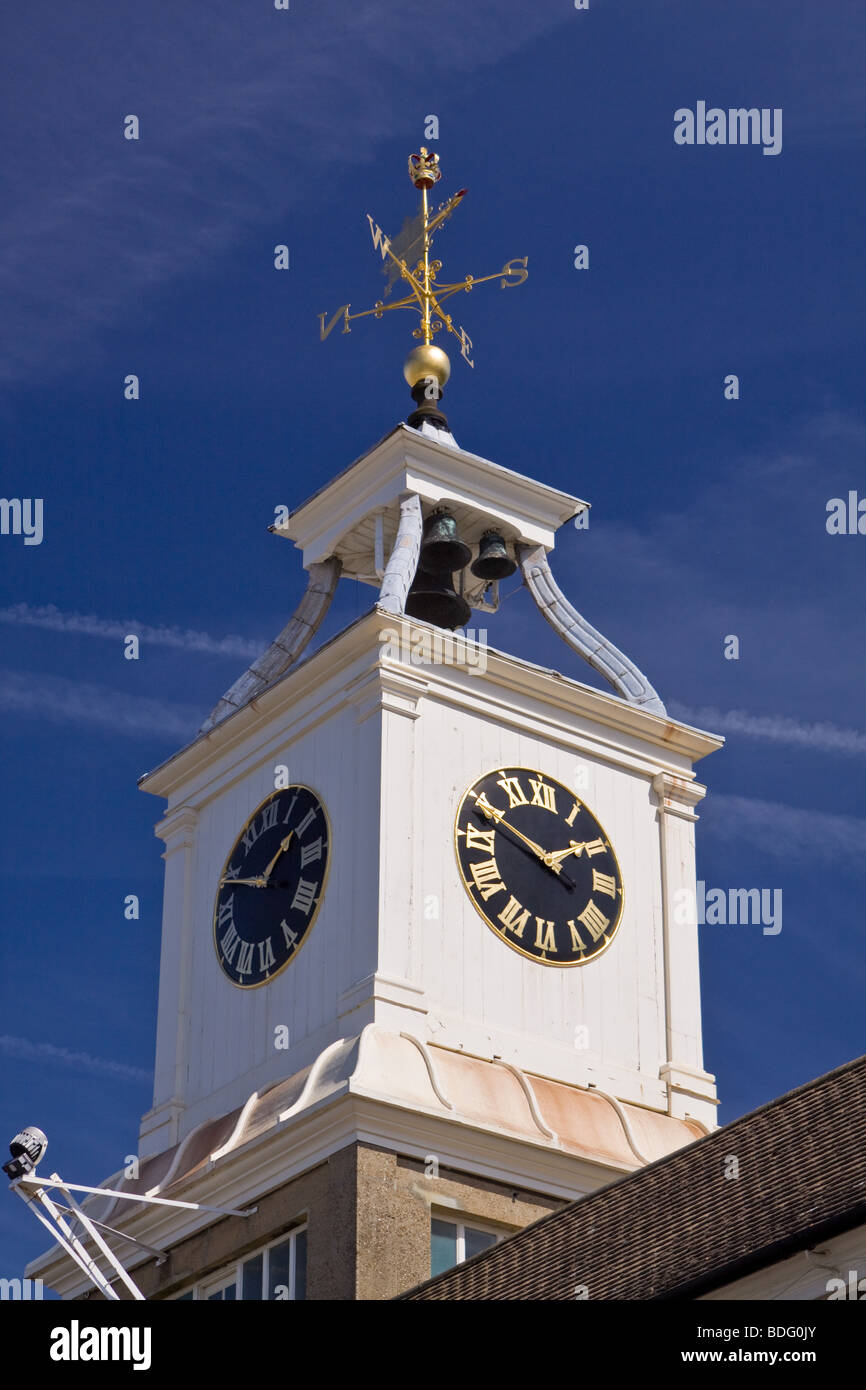 Clocktower Building Chatham Historic Dockyard - Stock Image