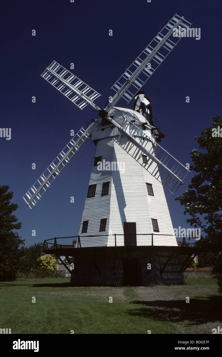 Abraham's Mill, in Upminster, Essex, England Stock Photo