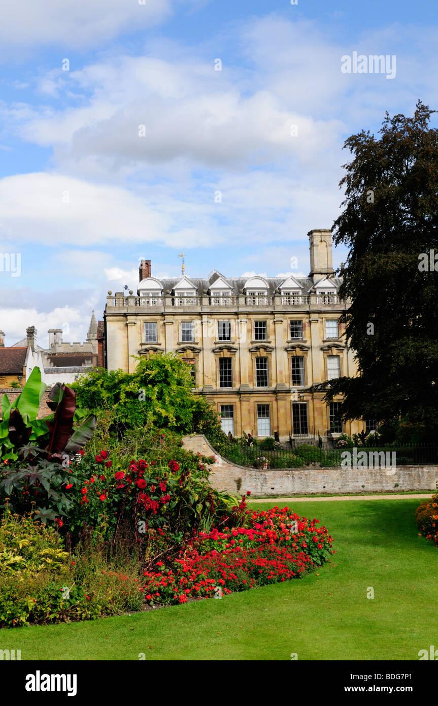 The fellows garden at Clare College, Cambridge England UK - Stock Image