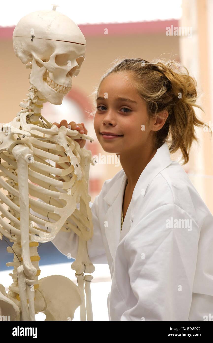 BIOLOGY TEACHING - Stock Image