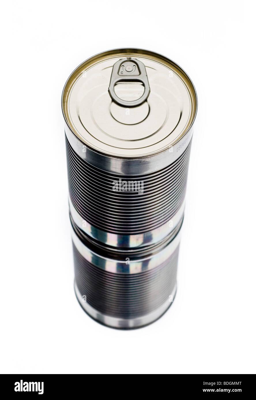 aluminium can - Stock Image