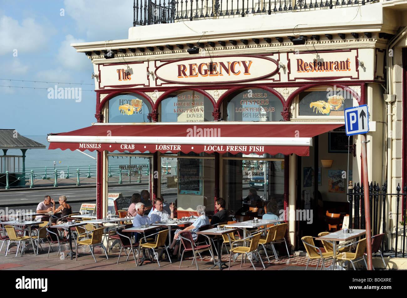 the regency restaurant for seafood on brighton seafront uk. Black Bedroom Furniture Sets. Home Design Ideas